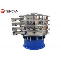 China 2-500 Meshes Round Rotary Vibrating Screen Machine For 1-5 Load Layer on sale