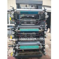 Quality Bopp Film / Rubber Plate Two Color Flexographic Printing Machine YT-2800 wholesale