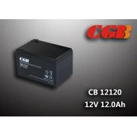 Quality CB12120 12AH Deep Cycle Lead Acid Battery Sealed / V0 Plastic 12v Ups Battery wholesale