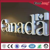 China metal sign sign letters RGB LED letters sign on sale