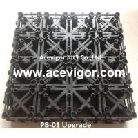Quality PB-01 Upgrade Interlocking Plastic Grid for DIY deck tiles wholesale