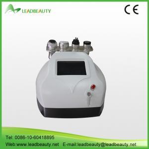 Portable 4 handles cavitation RF Vaccum body shaping slimming machine
