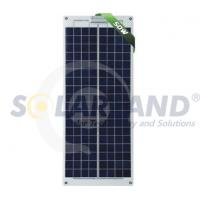 Quality OEM Custom 50W Solarland Semi - flexible Solar Panels with 36 Cells Module wholesale