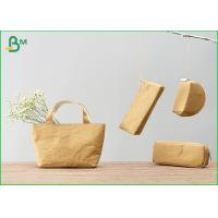 Quality 100% Recycle Custom Kraft Liner Paper For Zip Lock Pouch Wallet / Small Bag wholesale