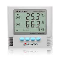 Quality Multi Function Digital Thermometer Hygrometer With Sound / Light Alarming Function wholesale