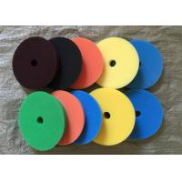 Quality 180mm Hook Loop Polishing Pad , Sheepskin Buffing Pads For Glass Products wholesale