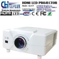 Quality 2500 lumens home led projector with high resolution & 2*hdmi ports & 2* usb inputs & dvd players wholesale