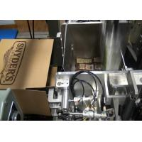 China Electric Auto Carton Box Packing Machine , Salt and Sugar Case Packer on sale