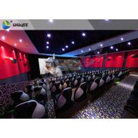 Quality Electric 4D Cinema System Customized Seat / Professional 3D Glasses 4d Cinema wholesale