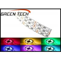 Quality RGB 5050 Rope LED Flexible Strip Lights 3m Adhesive Tape Available 120 Degree wholesale