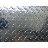 Quality Professional Flat Clean Aluminium Checkered Plate , Al Tread Plates with 1100 3003 5052 wholesale