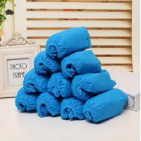 China Non-woven fabric CPE dispoable shoe covers use indoor/hospital on sale