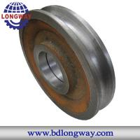 China high quality cast iron casting pulley on sale