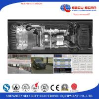 China Under Vehicle Scanning System with ALPR system to scan vehicle explosive, contraband on sale