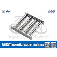 Quality Powerful Magnetic Separator Machine , Stainless Steel Magnetic Filter / Shelf / Gray wholesale