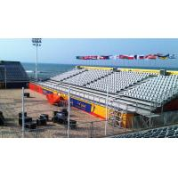 Buy cheap Plastic And Steel Temporary Grandstand Seating Personalized Stadium Seats product