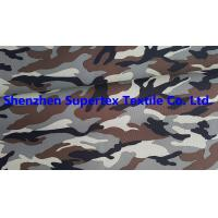 Quality Polyester Oxford Paper PU Breathable Coated Fabric Camo Print Leisure Military Uniform 300D 150GSM wholesale