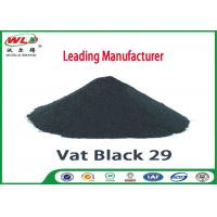 Quality High Stability Cotton Fabric Dye Permanent Vat Gray BG C I Vat Black 29 wholesale
