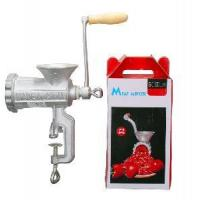 Quality Castiron Meat Mincer with Wooden Handle wholesale