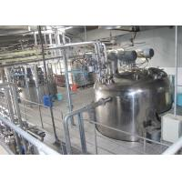 Quality Stainless Steel Liquid Detergent Production Line With Automatic Filling Machine wholesale