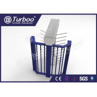 Cheap Intelligent CE Approved Full Height Turnstile Gate / Turnstile Security Systems for sale