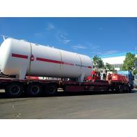 China 25 Tons Lp Gas Storage Tanks , Filling Station Propane Gas Storage Tanks on sale