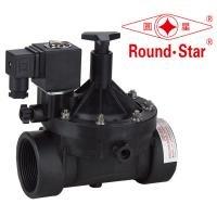 "Quality 3/4""20MM Plastic Magnetic Latching Solenoid Pilot Operated For Water / Gas / Air wholesale"