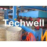 Cheap Rock Wool Insulated Sandwich Panel Cold Roll Forming Machine 0 - 4.05 m / Min Speed for sale
