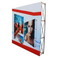 Quality Outdoor pop up banners wall display / trade show booth banners wholesale