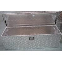 Quality Hardware Steel Trailer Tongue Tool Box , Powder Coated Underbody Truck Tool Boxes wholesale