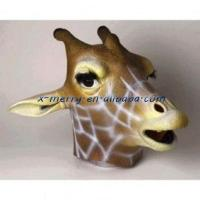 China X-MERRY Giraffe latex full face animal funny cute mask for female party xam032 on sale