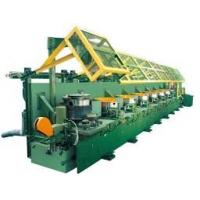 Quality High Carbon Steel Vertical Wire Drawing Machine With Electrical Control System wholesale