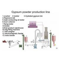China High quality plaster powder production line/machine on sale