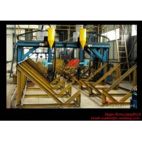 Cheap H Beam Production Line Gantry Welding Machine / Equipment With Two Submerged Welder for sale