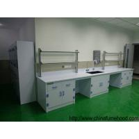 Quality PP Structure Lab Tables And Furnitures 8-10mm Worktops Anti Corrosive Reagent Shelf wholesale