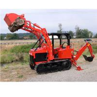 Customized Mini crawler Dozer Diesel engine Bulldozer Farm tractor with Front Loader Farm exploration