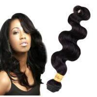 Quality Long Lasting100 Indian Human Hair Weave For Black Women Body Wave wholesale