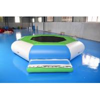 Quality Water Trampoline Combo , Inflatable Water Trampoline With Slide For Fun wholesale