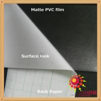 China PVC cold lamination film use for sheet, advertising, poster cover on sale