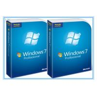 Quality Microsoft Windows Software Windows 7 Pro 64 Bit Full Retail Version DVD Sofware With COA 100% Activation wholesale