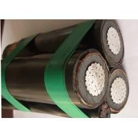 Quality 185mm2 Twisted MV Overhead Insulated Cable Steel Wire Neutral Weather resistant wholesale