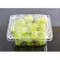 Quality High Clear Grape Box Disposable Plastic Fruit containers wholesale