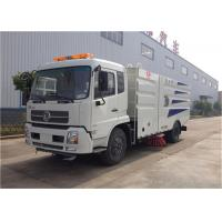 Quality RHD Dongfeng 4x2 Vacuum Sweeper Truck , 4000 Liters Road Cleaning Machine wholesale