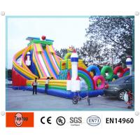 Quality Water Slide Commercial Inflatable Bouncers Commercial Grade for kids wholesale