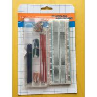 Quality ROHS 830 Tie Points Breadboard And 70 Pcs Flexible Jumper Wire Kit wholesale