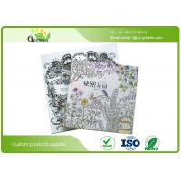 Quality Coloring Books for Sdults Relieve Stress , Eco Secret Garden Adult Drawing Books wholesale