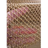 Quality Metal Coil Drapery/Decorative Woven Wire Mesh/Chain Link Curtain Mesh wholesale