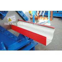 Quality Most Popular color sheet steel metal Rain Gutter roof roll forming machine wholesale