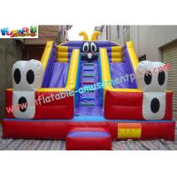 Quality Large Commercial  grade PVC tarpaulin Inflatable Slide Toy by custom design for Kids wholesale