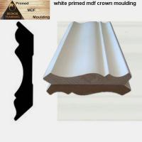 Quality White primed MDF crown mouldings for interior decoration wholesale